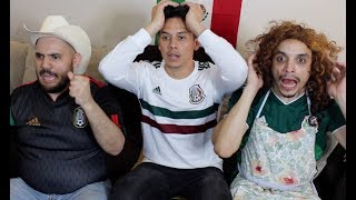 MEXICAN PARENTS REACT to MEXICO VS GERMANY