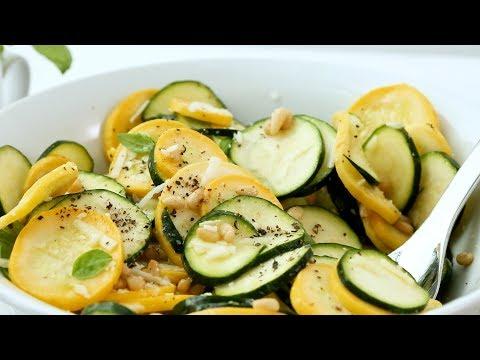 Zucchini-and-Squash Salad - Martha Stewart