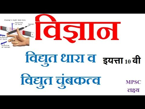 Electricity विद्युत व विद्युत चुंबकत्व ||MPSC Science|| PSI STI ASST TALATHI EXAMS||