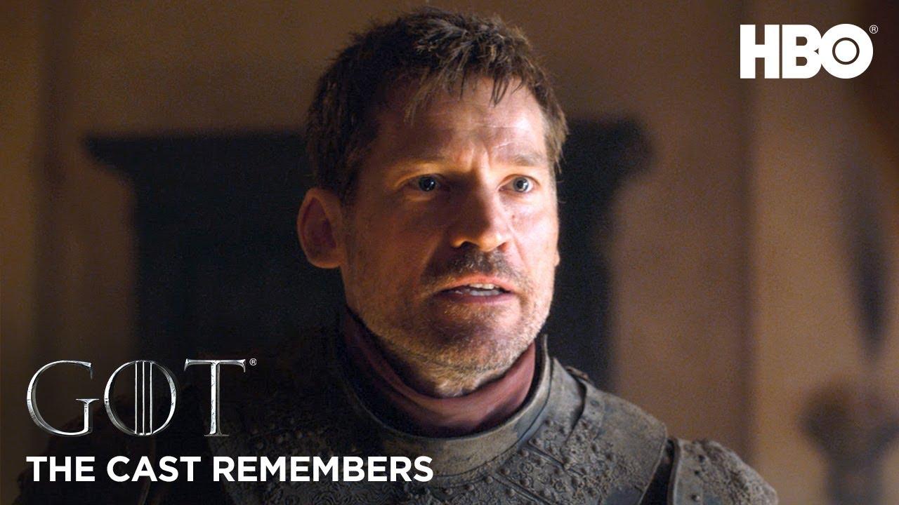 The Cast Remembers Nikolaj Coster Waldau On Playing Jaime Lannister Game Of Thrones Season 8 Hb