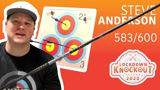 Steve Anderson shoots 583/600 for qualification | Lockdown Knockout