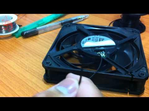 ปลาหวันทีวี #15 - Modify เปลี่ยนสายพัดลม