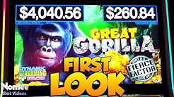 * NEW GAME! * Great Gorilla Slot Machine by AGS - First Look!