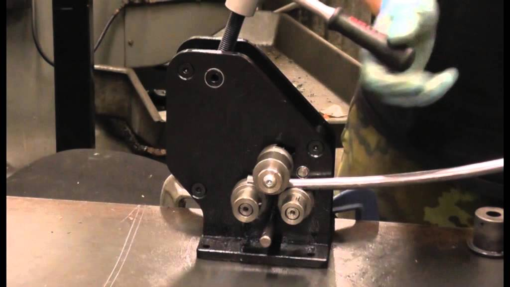 Cyclops Designs Mini Ring Roller Tube Rolling Youtube