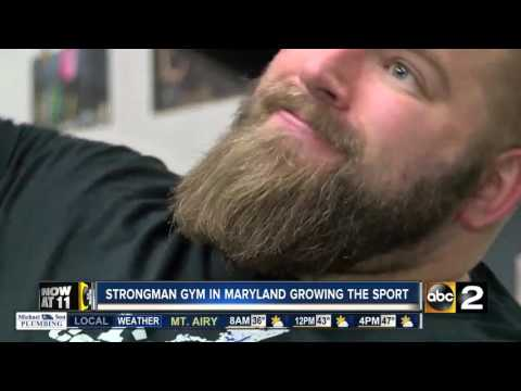 Strongman gym in Maryland growing the sport