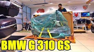 Распаковка нового мотоцикла BMW G310GS Unboxing