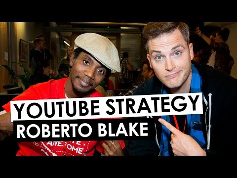 YouTube Strategy and Branding Advice — Roberto Blake Interview