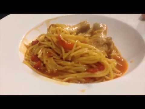 CHICKEN SPAGHETTI (Fideo Con Pollo)