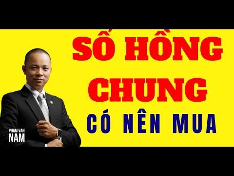 Có nên hay không mua nhà đất có sổ hồng chung I Phạm Văn Nam