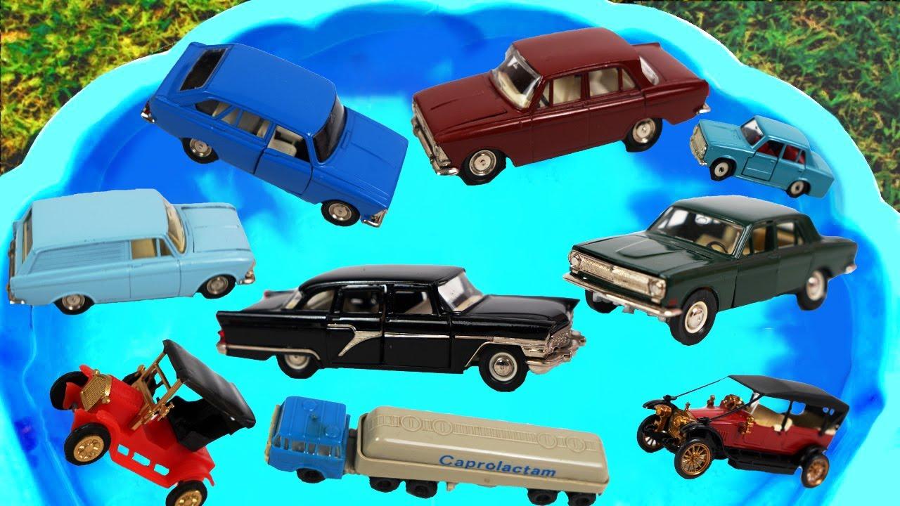 Download Coches Para Niños - Coche Retro, Camión, Camión Сisterna. Aprendemos el nombre del Coche