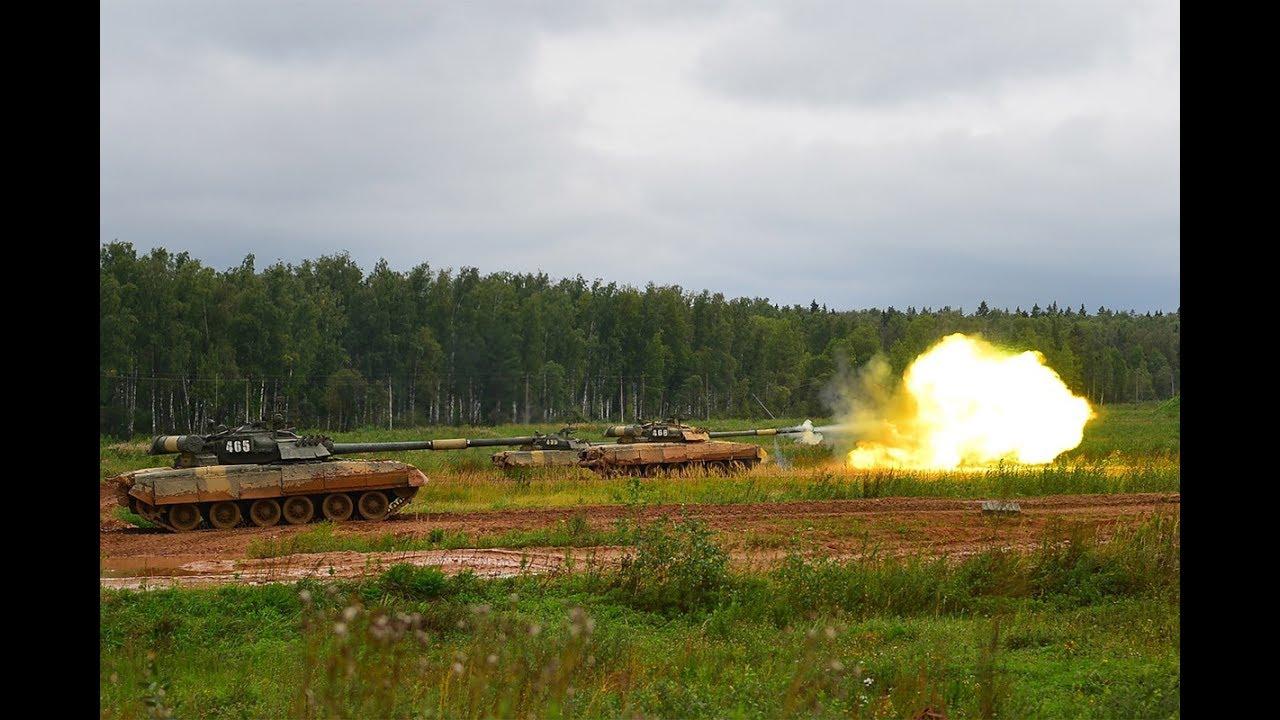 Боевая подготовка танкистов 4-й Кантемировской дивизии
