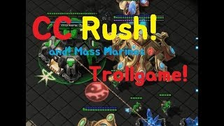 [ Troll Game ] CC Rush! Trollgame Dragon starcraft2