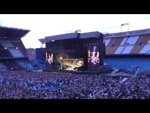 its been a hard days night - Paul Mccartney directo desde Madrid 2016