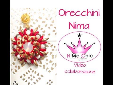 DIY Tutorial Orecchini Nima in Collaborazione con Nima Chic