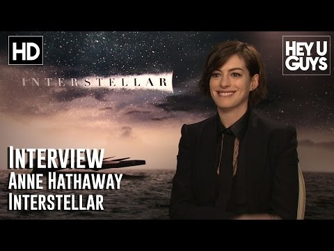 Anne Hathaway Interview - Interstellar