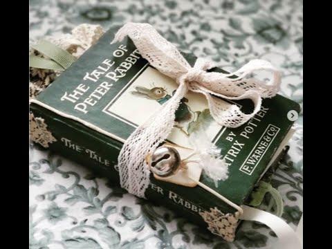 (SOLD) The Tale Of Peter Rabbit, Junk Journal Flip-through