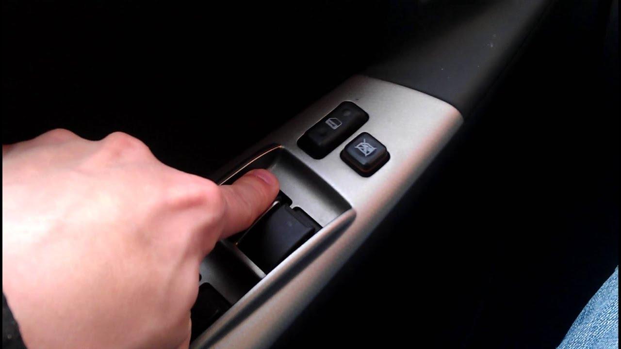Toyota Corolla E12 - Réinitialisation des vitres électriques / Reset Electric windows master ...