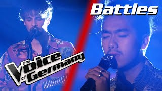 Labrinth - Jealous (Duc-Nam Trinh vs. Sean Koch) | The Voice of Germany | Battles