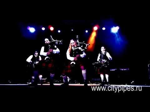 ACDC   Thunderstruck on bagpipes