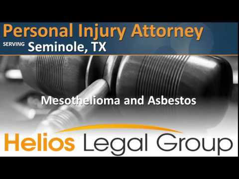 Seminole Personal Injury Attorney - Texas