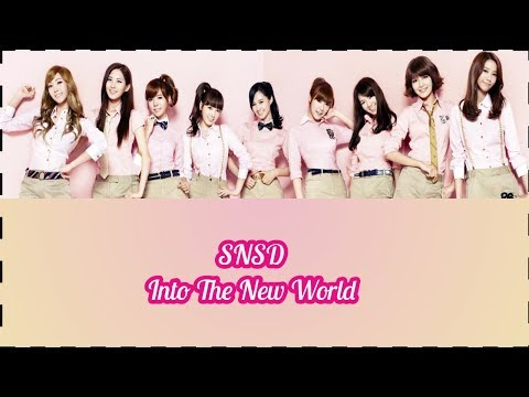 Girl Generation - Into The New World [Sub Indo]