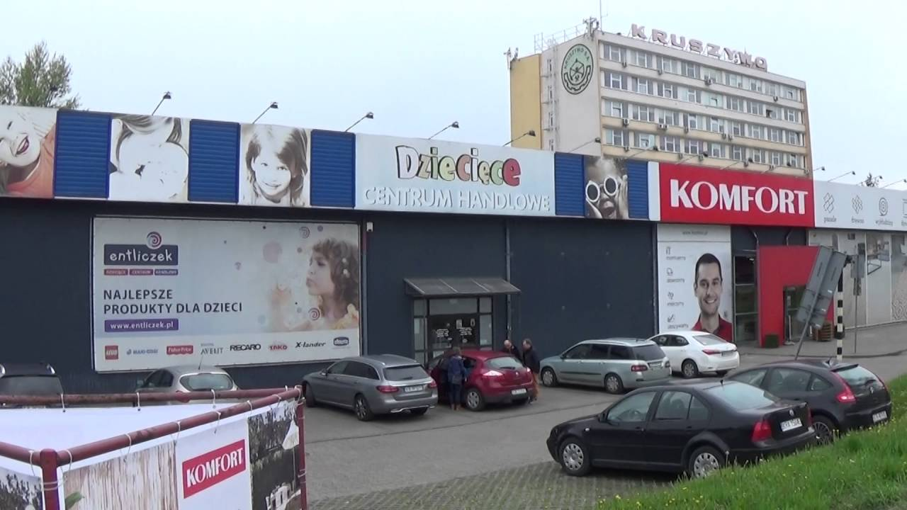 Centrum Handlowe Komfort Ulica Wadowicka Kraków