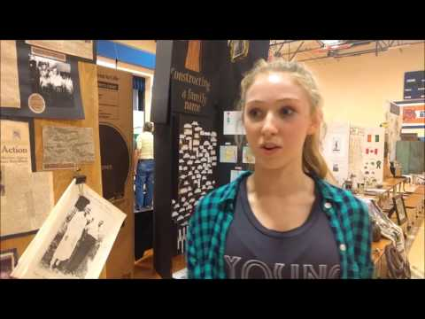8th Grade Family History Projects