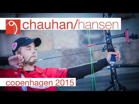 Chauhan v Hansen – Compound Men's Gold Final | Copenhagen 2015