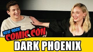 X-MEN DARK PHOENIX New York Comic Con Panel - Sophie Turner & Tye Sheridan