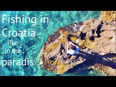 Rocks, Shore and Beach fishing in the Mediterranean Sea Croatia/Uferangeln im Mittelmeer in Kroatien