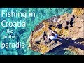 Rocks, Shore and Beach fishing in the Mediterranean Sea Croatia/Uferangeln im Mittelmeer in Kroatien