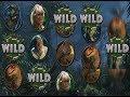 "Jurassic Park Slot ""Wild Line"" BIG WIN!"