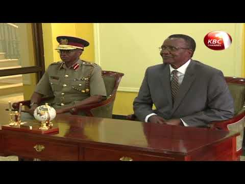 CJ Maraga urges Police Service to focus on restoring public confidence