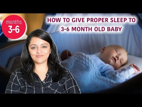 TIPS TO MAKE 3 TO 6 MONTH OLD BABIES SLEEP WELL || MomCom India Explains