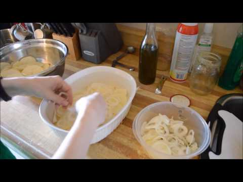 Gluten/ Dairy Free Scalloped Potatoes