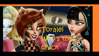 Toralei Stripe Who's that chick / Mica Ever Monster High