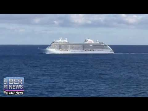 'Seven Seas Explorer' Arrives In Bermuda, November 28 2016
