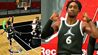 WARNING!! THIS BUILD IS TOO GODLY! DROPPING 30+ ON A PRIMARY LOCK DOWN! - NBA 2K19 JORDAN REC CENTER