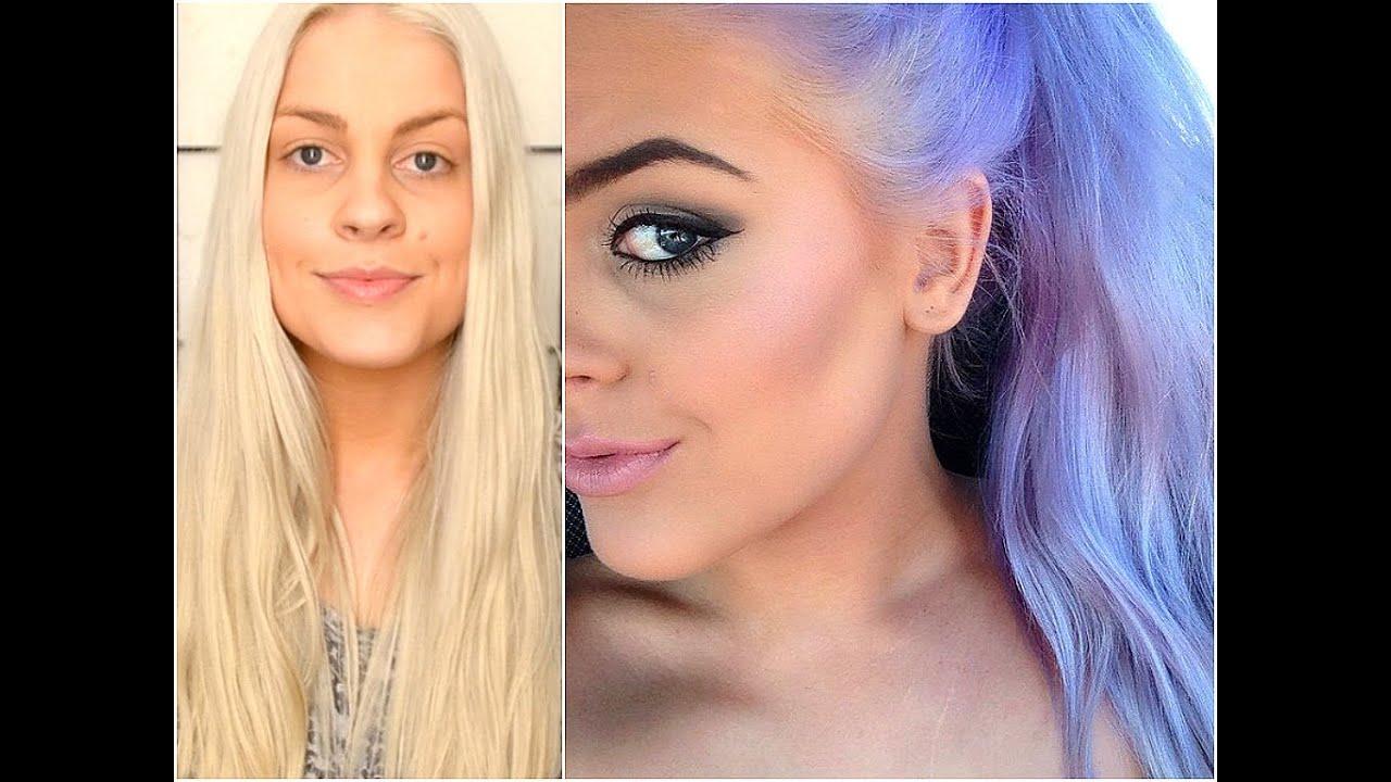 Pastel Purple Hair Tutorial Youtube
