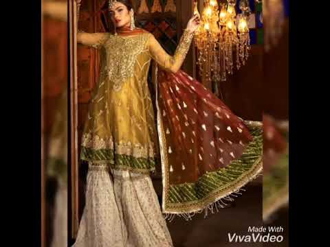 Pakistani Party Wear Embroidered Dresses 2019 2020 Latest