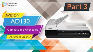 HOW TO SCAN WITH AVISION AD130 Compact and Affordable Document Scanner Part3 Global Brand Pvt Ltd