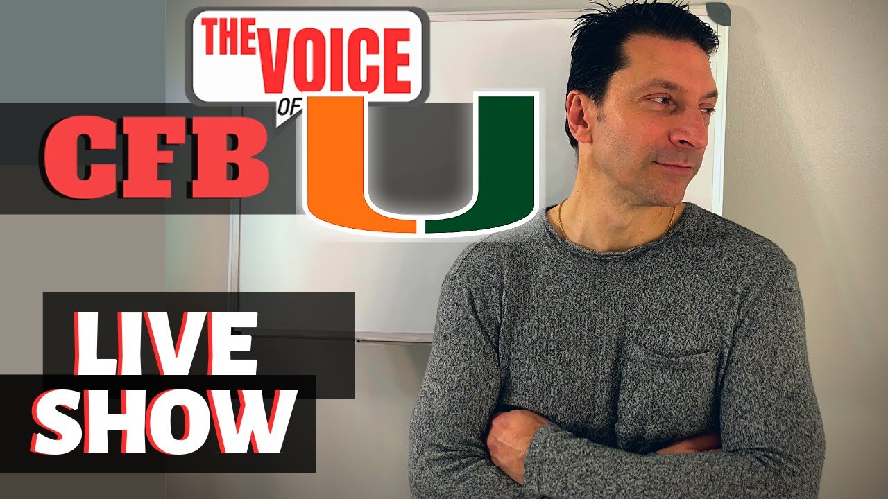 Miami Hurricanes LIVE 71 / KINCHENS COMMITS, NO NON-CONFERENCE GAMES?, WHAT ABOUT NOTRE DAME?