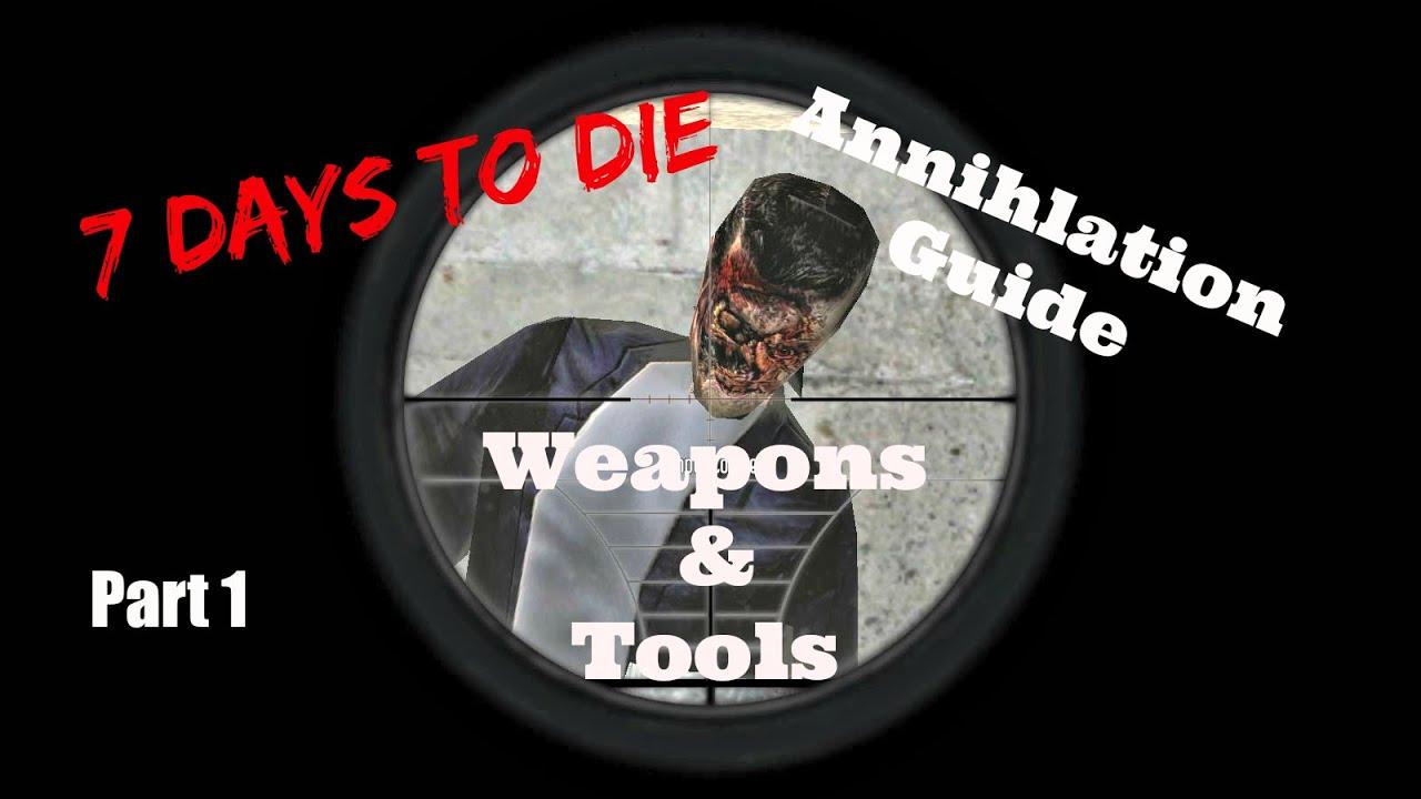 how to repair wepons 7 days to die