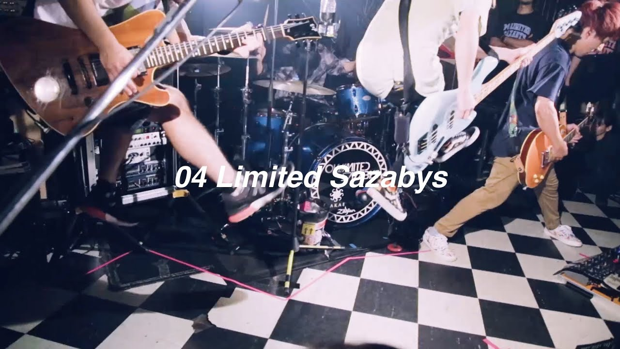 04 Limited Sazabys 下北沢shelterでの熱演収めた新曲 Message Mv 動画あり 音楽ナタリー