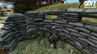 Dayz. Русские Снайперы.  Ловля на живца.