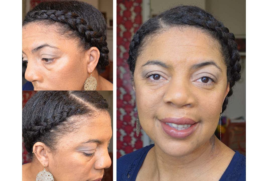 Protective Style Two Braids