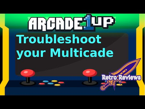 Is it broken!? Arcade 1Up troubleshooting from RetroReviews
