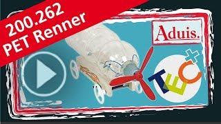 PET Renner Flaschenauto DIY