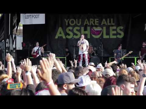 Falling In Reverse - Just Like You - LIVE On Vans Warped Tour 2016
