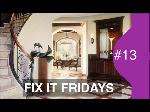 Interior Design | Incredible Stairway makeover | Fix it Friday 13